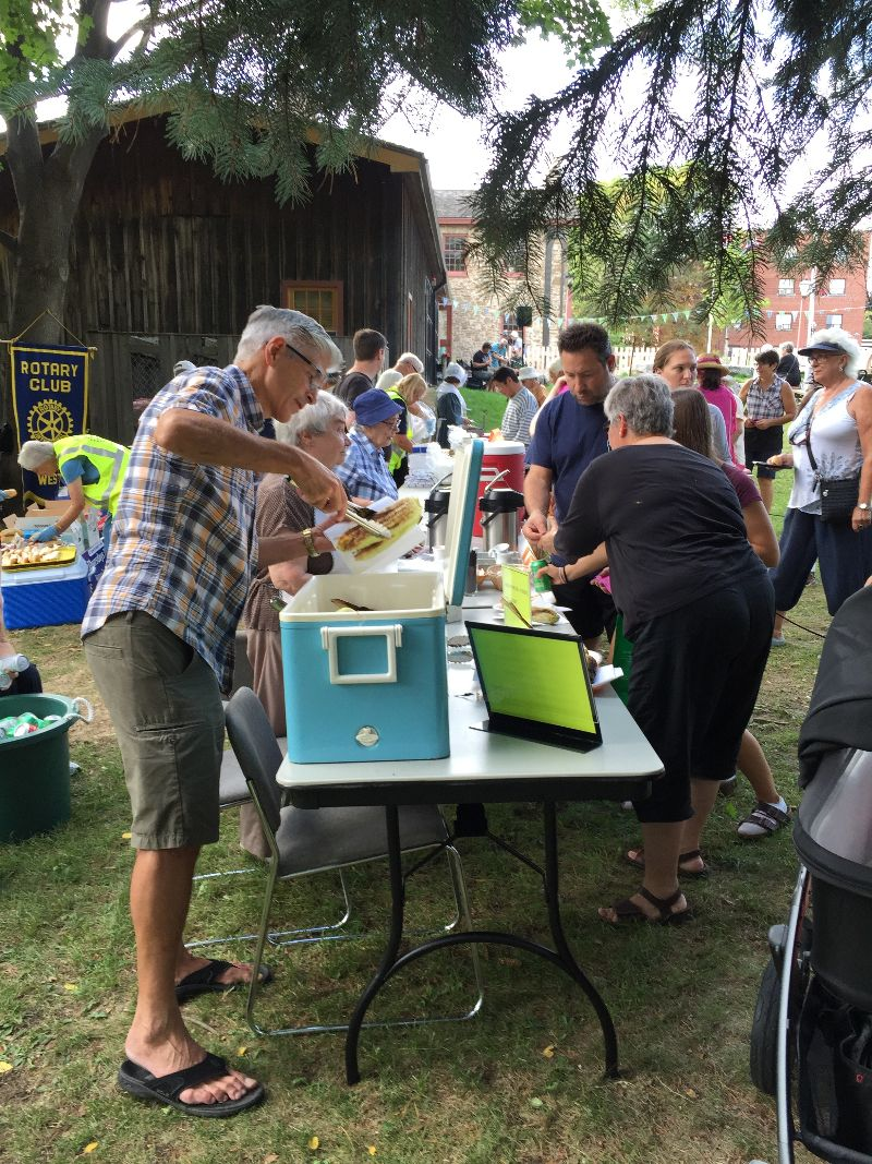 Photo from the 2016 Corn Roast at Montgomery's Inn