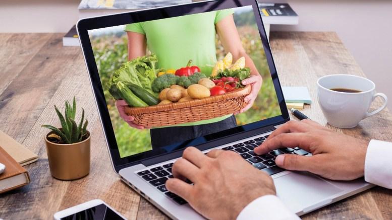 Photo of Laptop Accessing Virtual Farmers' Market